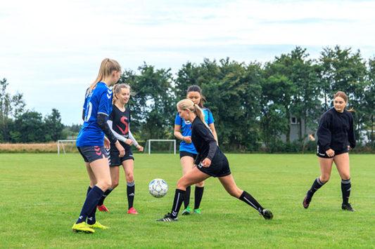 fodbold træningsøvelser voksne